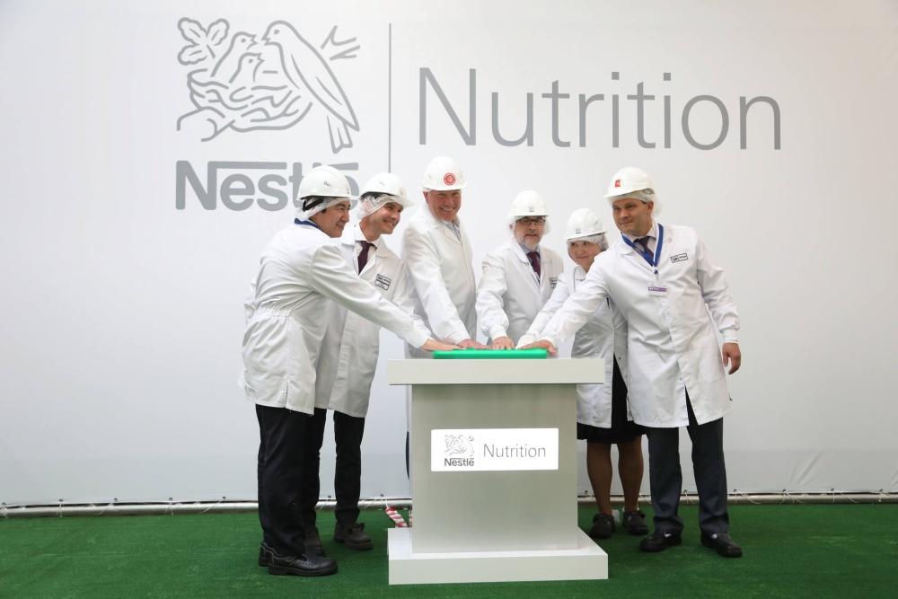 В Вологде состоялось открытие фабрики «Нестле» по производству сухих детских смесей