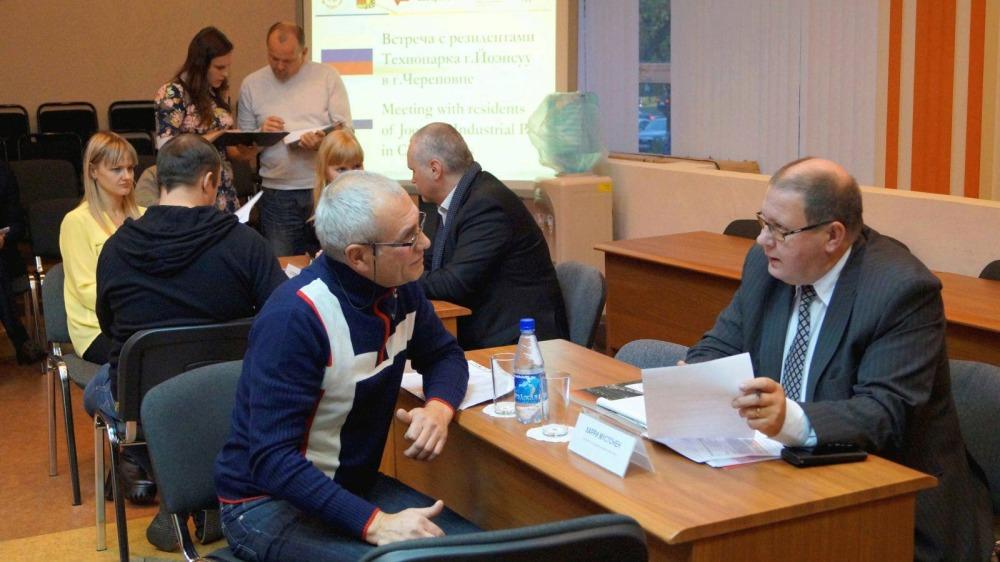 Деловая встреча с финскими компаниями в Череповце