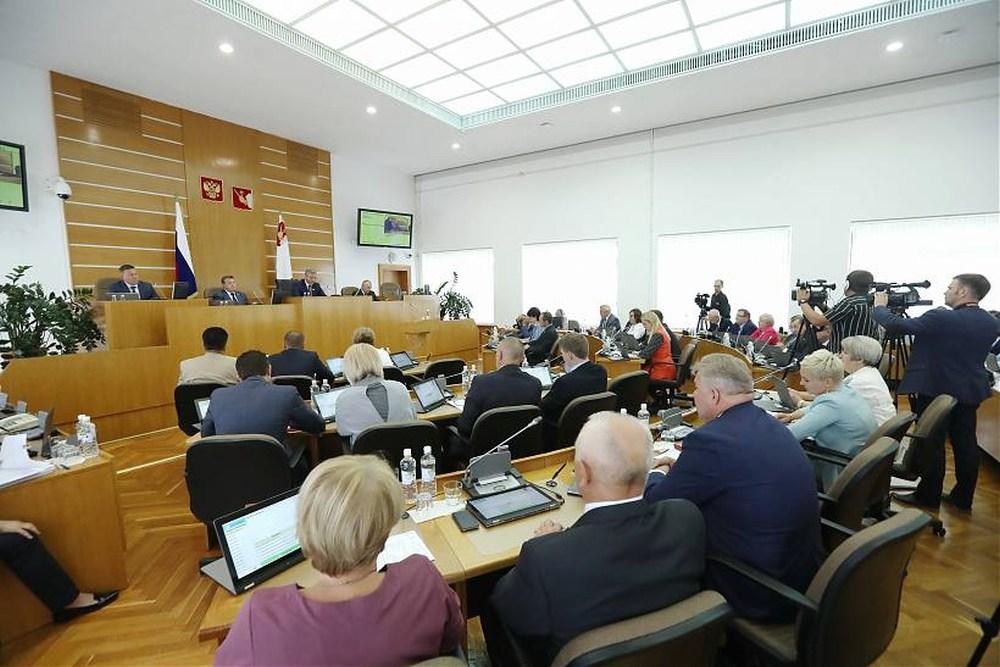 Олег Кувшинников представил программу развития Вологодчины на ближайшие пять лет
