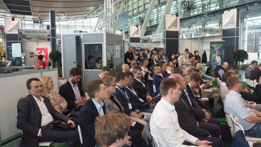 Презентация российских производителей биотоплива и пиломатериалов на крупнейшей мировой выставке Ligna 2019