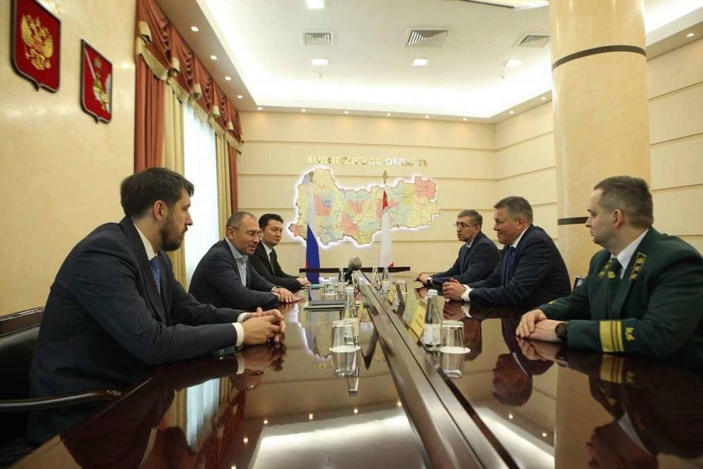 Президент Segezha Group и Губернатор Вологодской области обсудили перспективы строительства в Соколе CLT-завода