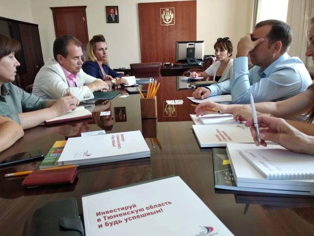Рабочий визит делегации Вологодской области в Тюменскую область