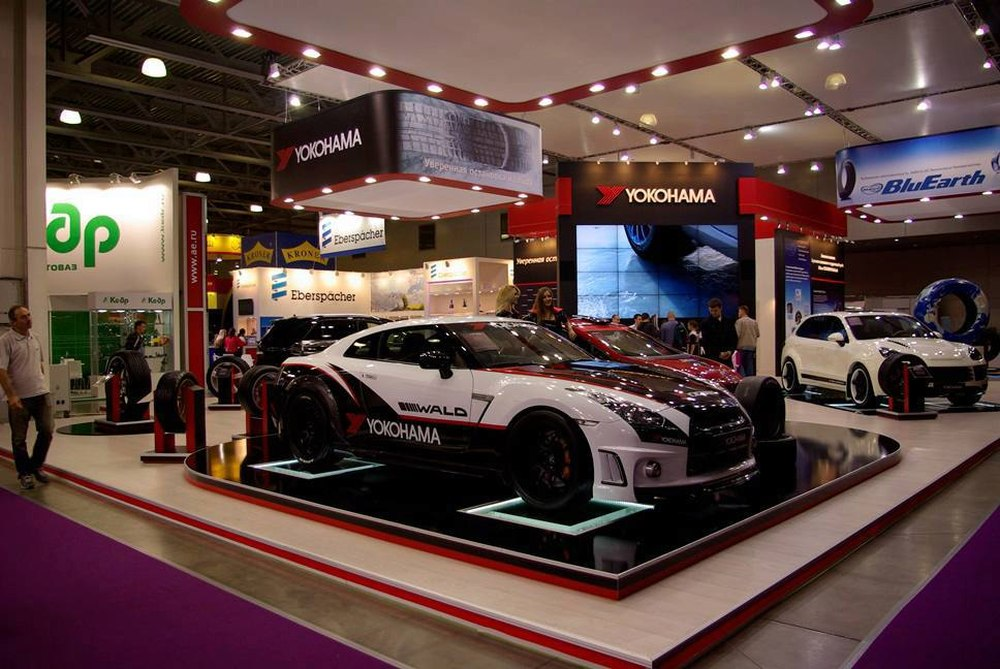 15-я международная выставка автомобильной индустрии «ИНТЕРАВТО»