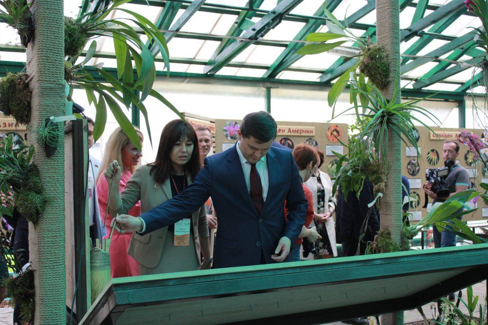 В Вологде открылся единственный в мире Музей орхидей