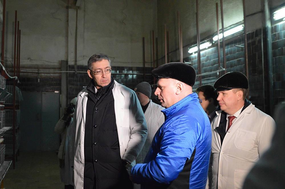 Правительство области поможет Тотемскому району наладить рынок сбыта фермерской продукции