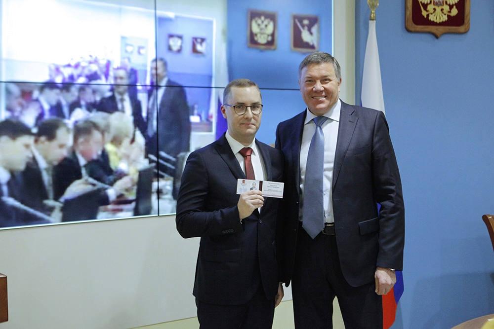 Назначен новый начальник Департамента экономического развития Вологодской области